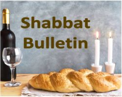 shabbat bulletin home