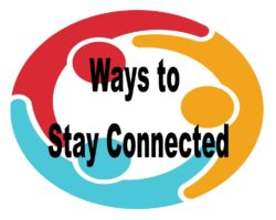 ways to stay connected