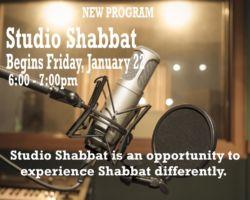 studio shabbat 1